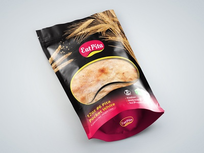 EatPita Packaging Design pita bread dorian sarmasan bag design packaging logo art director graphic designer product design logo design packaging design