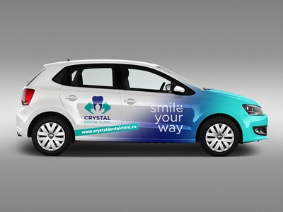 Car Branding for Crystal Dental Clinic