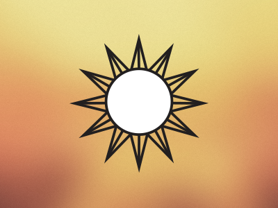 Sunshine icon icon ui app iconography spring sun sunshine weather