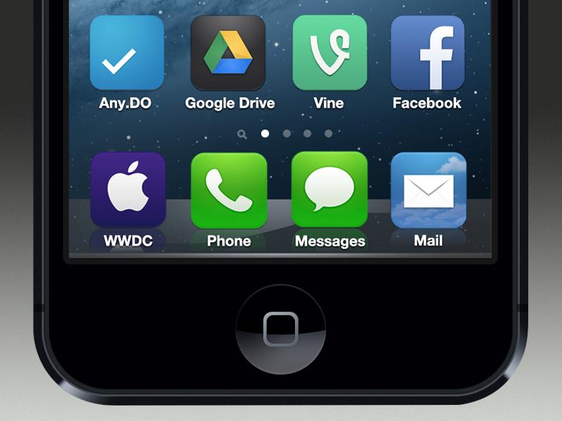 Waiting for WWDC 2013... ios 7 wwdc 2013 flat skeuo apple ios ui app blog