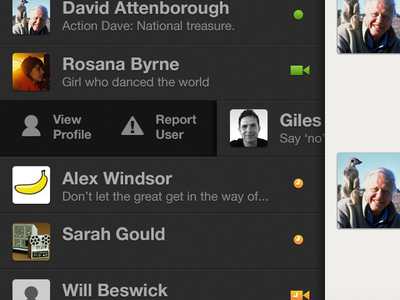 Gchat iOS concept gchat google gtalk ios google chat google talk concept app