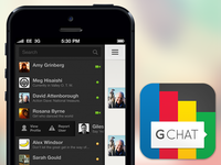 Gchat iOS concept