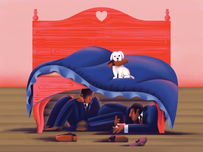 Ivan Andreevich fun texture shoes interior bed humor novel dog dostoevsky digitalart digital flat character vector illustration