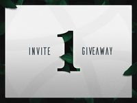 1 invite to giveaway