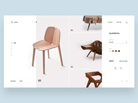 Furniture store concept page