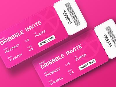 2 Invites // Taken invite to giveaway illustration graphic ui dailyui design dribbble invite dribbble invite giveaway invite giveaway invite