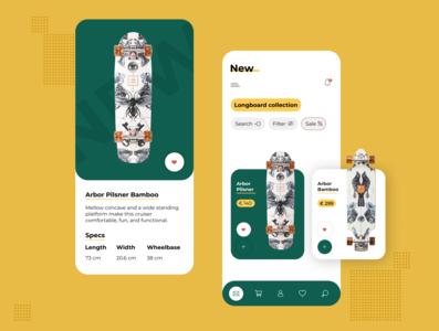 Longboard concept app