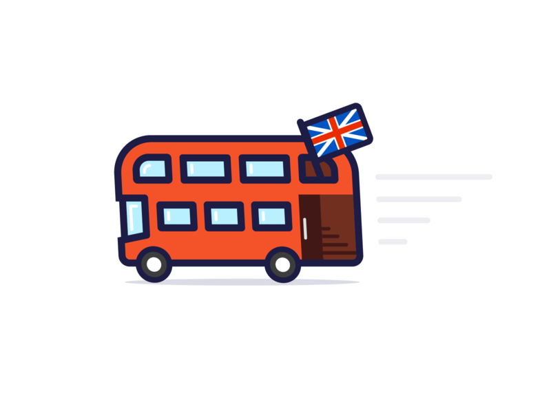 Routemaster british double decker bollocks england london vector illustrator illustration design