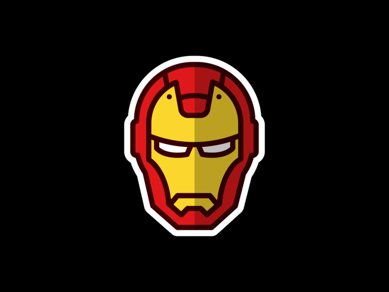 Iron Man tony stark avengers marvel fan art vector illustrator illustration design