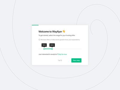 Customer Onboarding - Connecting Platforms ecommerce magento stripe woocommerce shopify integration wayflyer onboarding web app