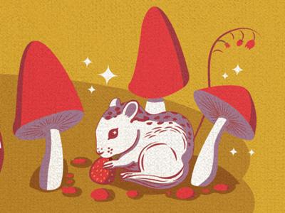 Fall themed illustration