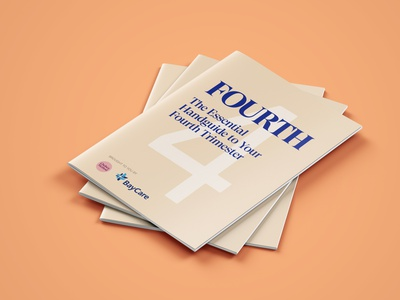 Fourth: The Essential Handguide to your Fourth Trimester brochure health booklet