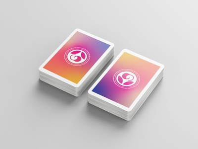 Playing Cards | Chelsea Method logo gradient playing cards