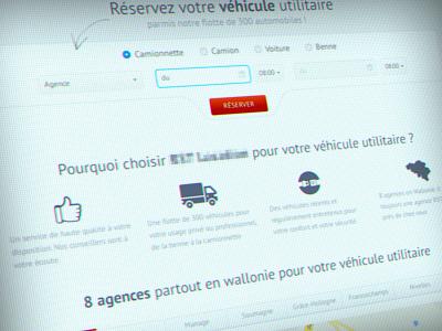 Car rent website redesign car rent hire vehicules web web design webdesign icons rental booking car rental car booking