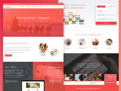Royal Canin Corporate website
