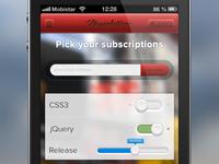 Mobile app form practice
