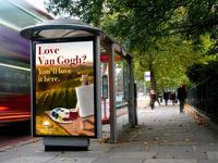 Vineyard Bus Stop Ad