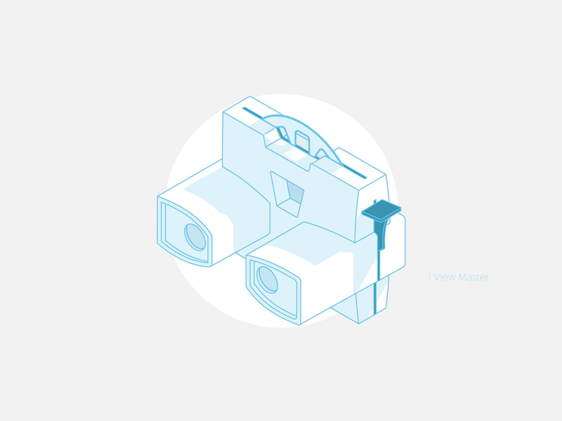 View Master vector art toy vintage line isometry vector illustration isometric illustration isometric icons shadow design vector vr classic vr isometric art icon illustration isometric design isometric
