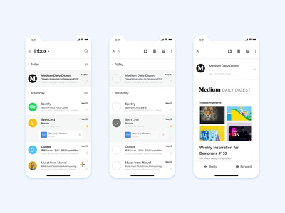 Redesign Gmail