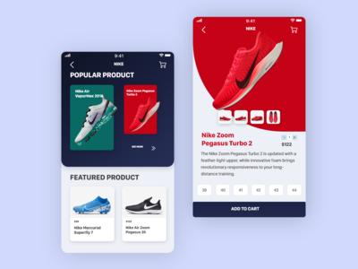 E-Commerce App | Shopping Bag User Interface