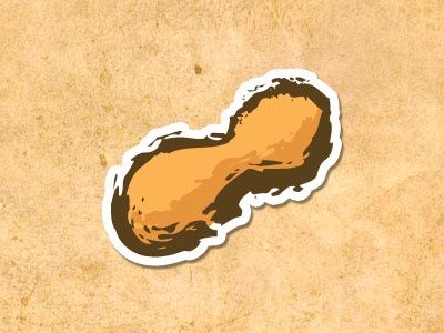 Peanut peanut contains nuts restaurant menu indicator
