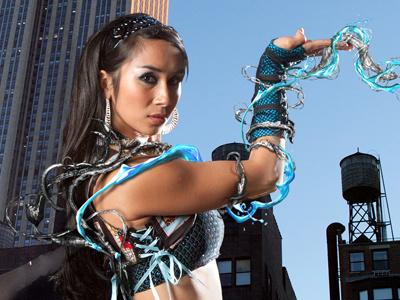 Surreal Water / Metal Magic photomanipulation photoshop design photography blue epic