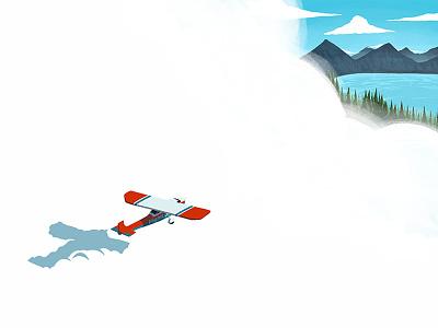 FlightLoc adventure exploration planes microsoft flight sim flightloc web design design minimal editorial digital illustration illustration branding