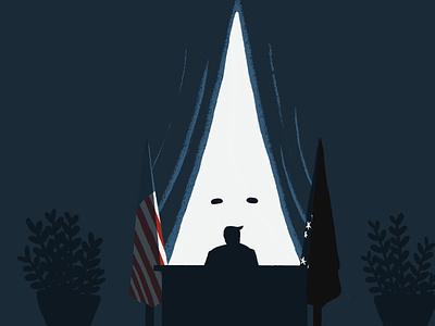 Trumps Racism election 2020 leedsillustrator trump racism racism election2020 election trump minimal illustration characters minimal conceptual editorial illustration editorial digital illustration illustration