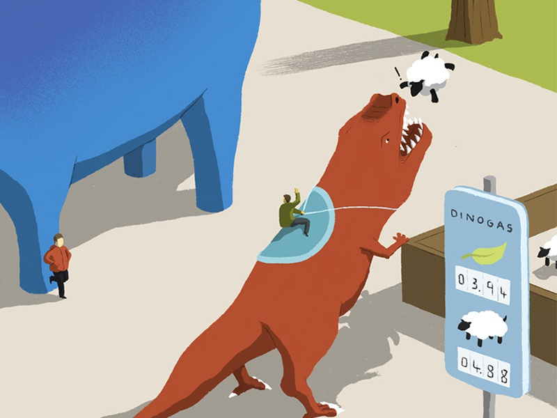Dinos illo andy carter dinosaurs future characters design minimal illustration characters minimal design conceptual editorial illustration editorial illustration digital illustration