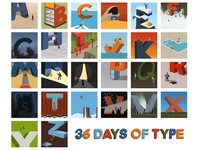 A-Z 36 Days of Type!