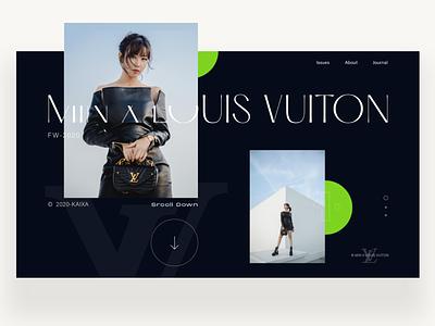 "Hi Min, I Stand Here ""Từ Chiều"" fashion webdesign vietnam ui  ux design ui typography kaixapham inteface graphicdesign desgin"