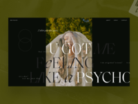 Psycho - Red Velvet 2 vietnam fashion webdesign ui  ux design ui inteface graphicdesign typography kaixapham desgin
