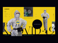 N-Covid 19 Fashionista vietnam fashion webdesign ui kaixapham ui  ux design inteface graphicdesign typography corona virus coronavirus covid-19