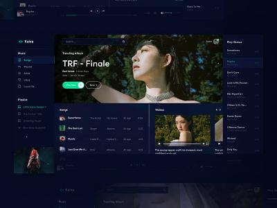 Red Velvet Irene - Psycho / Music App Concept vietnam fashion webdesign ui  ux design ui kaixapham inteface graphicdesign desgin typography