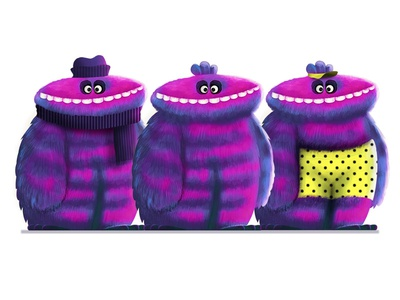 Muppet - Character Design - Family