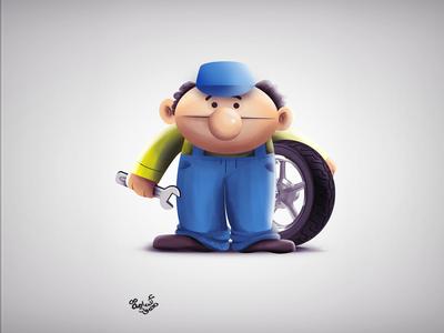 Muppet Design - mechanic - 02