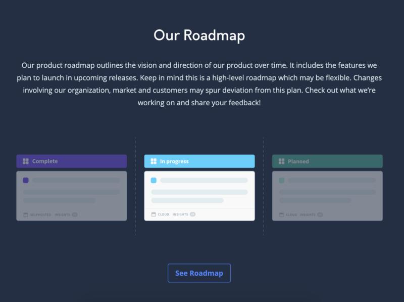 Roadmap website illustraion roadmap