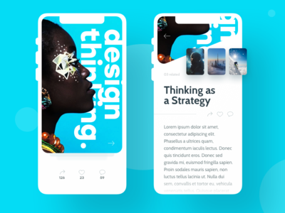 Article Concept design thinking any- article news