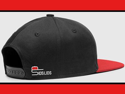 Sid's Lids Baseball Cap Logo s logo hat logo hats caps brand design brand identity digital art branding design brand logos logo design logo graphic design