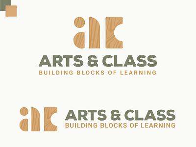 AC Building Blocks Logo blockstack preschool academy logo school logo blocks building blocks brand design brand identity digital art branding design logo brand logos logo design graphic design