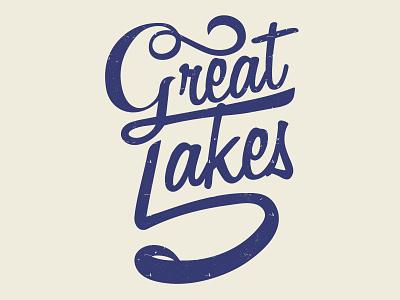 5 Great Lakes lettermark 5 great lakes michigan great lakes great lakes type script lettering typography vector illustration logo design graphic design