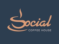 Social Coffee House Logo