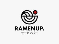 Ramenup. Japanese Noodle Bar Logo