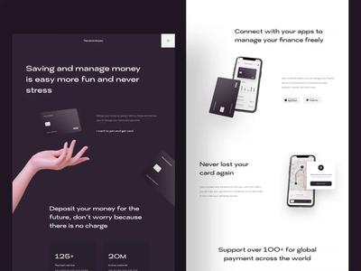 Nevereverpay | Banking Website minimalism finance bank card card credit bank app banking bank design web design website landing page ux ui