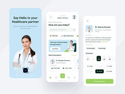 💉Sucrose Medical Apps schedule patient simple clean mobile medicine medical healthcare health doctor design app
