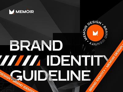 Memöir | Brand Identity logotype brand guideline guideline guidelines identity brand identity branding logo