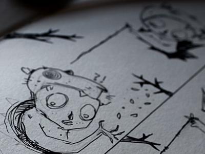 Lobinhos sapecas sketch 06 14 2013