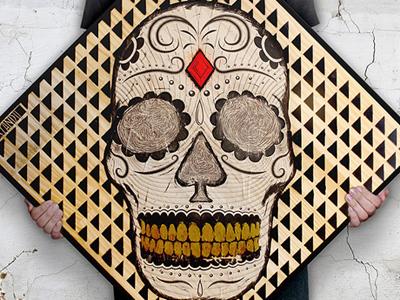 """""""Cráneo!"""" (""""Skull!"""")"""