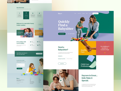 BabyCare Joomla Template care children child page builder ui babies joomshaper joomla web website template babysitter babycare baby