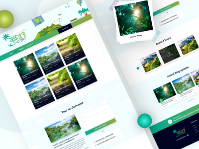 Shopnojatra Travel group Bangladesh mockup wireframe blog branding design user interface saas tourist travel creative landing page google landing ui web